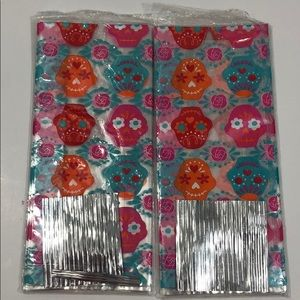 40 Day Of The Dead Sugar Skull Treat Party Bags